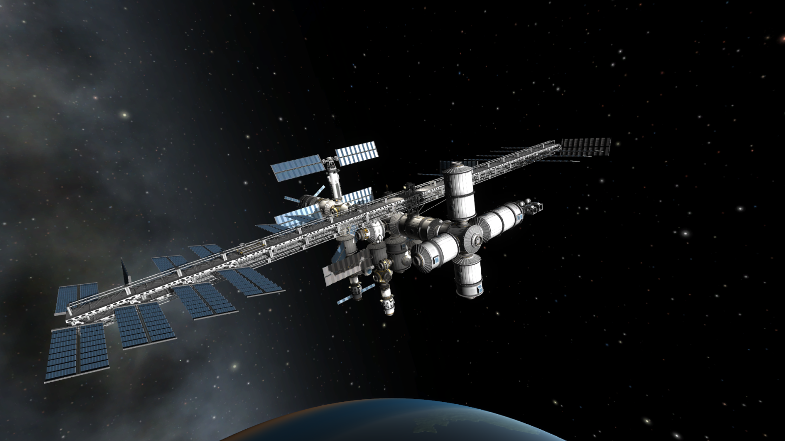 kerbal space station build -#main